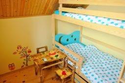 domek łóżko dla dzieci