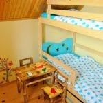 Poddasze - sypialnia dla dzieci